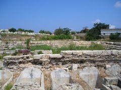 אתר תיאטרון בעיר צור. מתוך ויקיפדיה