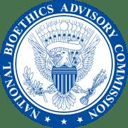 """לוגו הוועדה הלאומית לאתיקה רפואית בארה""""ב. מתוך ויקיפדיה"""