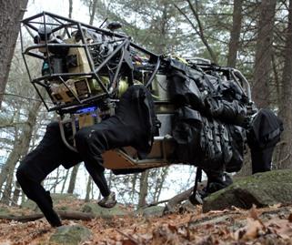 אלפא דוד. צילום: DARPA