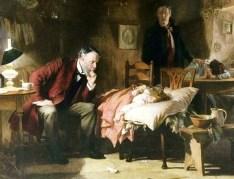 הרופא, ציור של סיר לוק פילדס, 1891