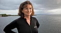ננסי נולטון, הביולוגית הימית הראשית של המכון הסמיתסוני והמוזיאון לטבע בוושינגטון
