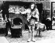 דמותו של פרנקנשטיין בסרט של אולפני אדיסון משנת 1910. מתוך ויקיפדיה