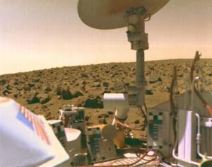 צילום עצמי של וייקינג-2 על מאדים