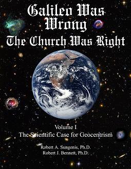 """עטיפת ספרו של רוברט סאנג'יניס """"גליליאו טעה; הכנסיה צדקה"""""""