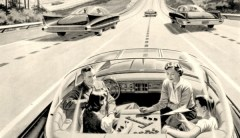 רגע לפני סיום: הידעתם? כבר ב- 1957 הייתה פרסומת ראשונה לרכבים ללא-נהג. הרעיון אולי היה טוב, אבל לטכנולוגיה לקח עוד יותר מחמישים שנים עד שהגענו לנקודת המימוש.