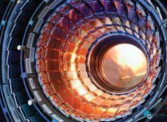 קטע ממנהרת מאיץ ההדרונים הגדול ב-CERN. צילום: CERN