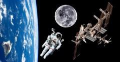 תחנת החלל הבינלאומית בראשית ימיה. איור: shutterstock