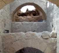 מערך הכניסה לארמון הורדוס בהרודיון. צילום: האוניברסיטה העברית