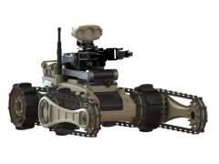 רובוט צבאי מדגם Tender 5 של חברת iRobot. התמונה באדיבות ועדת המדע של הכנסת