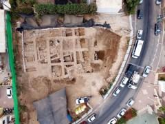 צילום אווירי של החפירה: גיא פיטוסי, באדיבות רשות העתיקות