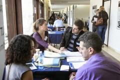 """אחד מירידי התעסוקה למדענים שרוצים לחזור לארץ בבית האקדמיה למדעים. צילום יח""""צ"""