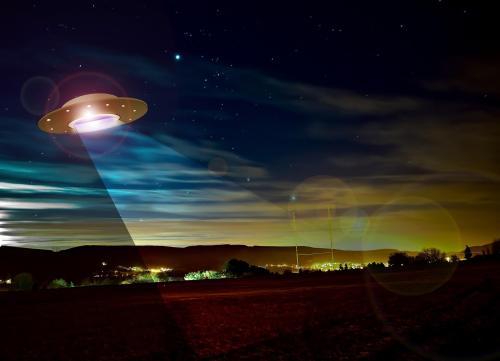אין ראיות מהימנות כלשהן לביקורים של חייזרים בכדור הארץ. הדמייה: pixabay