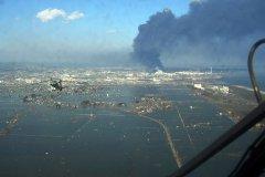 נזקי רעידת האדמה והצונאמי בסנדאי, יפן, 2011. צילום: U.S. Navy.