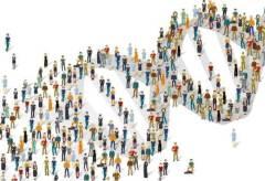 גנטיקה של אוכלוסיות. איור: המכונים האמריקנים לבריאות NIH