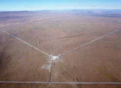 מתקן LIGO בהנפורד, וושינגטון. צילום: CALTECH