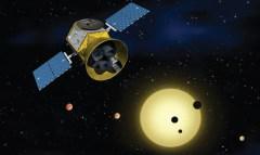 הדמייה של TESS. מקור: NASA.