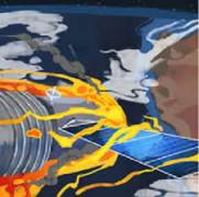 תחנת החלל הסינית טיאנגונג-1 עומדת להתרסק על כדור הארץ ואוסטרליה נמצאת על מסלול ההתרסקות. איור: Cindy Zhi/The Conversation, CC BY-ND