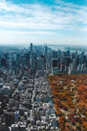 ניו יורק. אי החום העירוני משמעותי יותר בערים שמתוכננות בשתי וערב. צילום: Barron Roth, Unsplash.