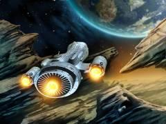 לוחמת חלל. איור: shutterstock