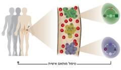 זיהוי השונות בין תאי הגידול ועמידות לטיפול באמצעות איפיון גנטי מדויק של אלפי תאי סרטן בחולי מיאלומה נפוצה. איור: נעה גודין, מכון ויצמן