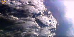 פליטת הלוויין דוכיפת 3 מהמשגר ההודי, 11/12/2019. צילום מסך.