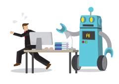 הבינה המלאכותית מחסלת משרות. איור: shutterstock