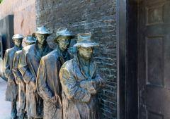 אנדרטת הזיכרון לנשיא פרנקלין דלנו רוזוולט בתקופת השפל הגדול בוושינגטון