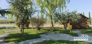 Residencia Hayarden La Almunia, Espacios abiertos para pasear