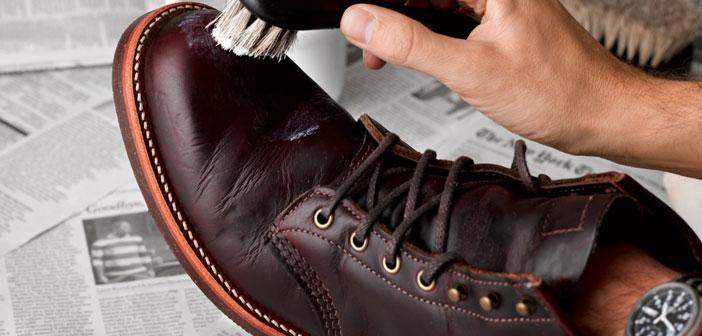 Deri ayakkabıda beyaz leke nasıl temizlenir