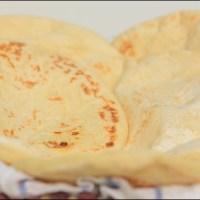 طريقة تحضير الخبز الشامي في البيت