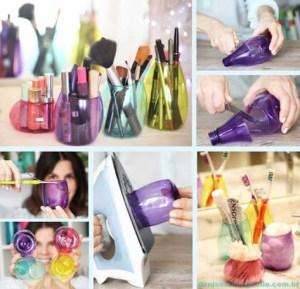Plastik şişeden saklama kabı nasıl yapılır