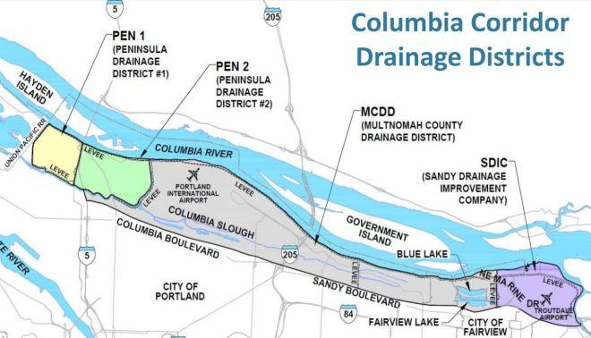 Columbia Slough & Levee System | Hayden Island on