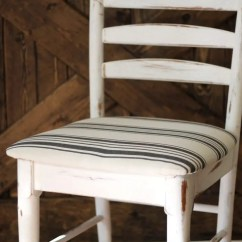 Reupholster Dining Chairs Carpet Cover For Office Chair How To In 15 Minutes Two Paws Farmhouse