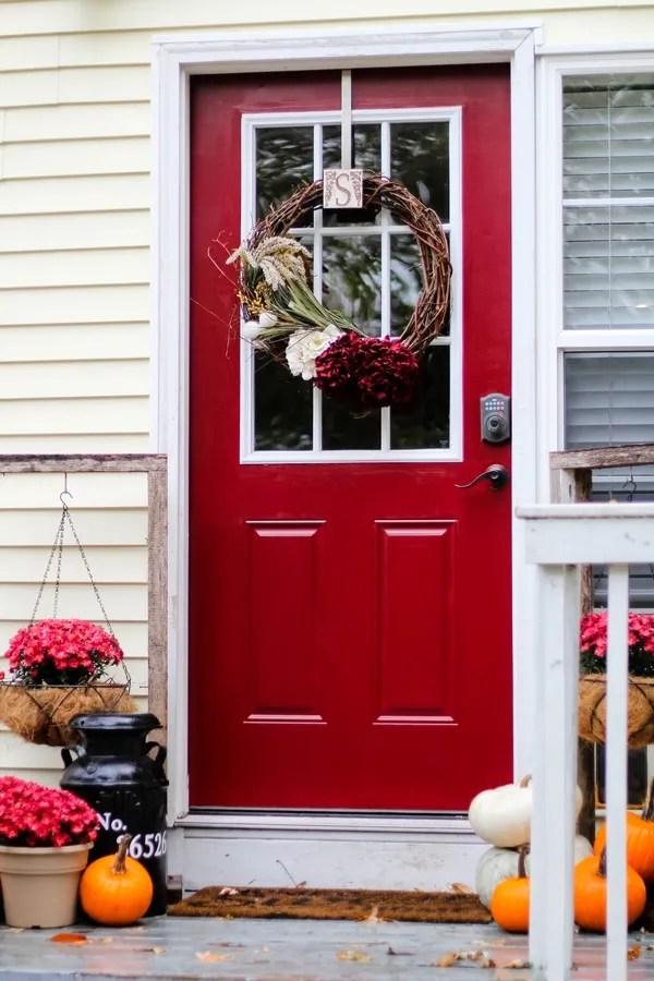 Modern Masters Door Challenge: Front Door Makeover | Two Paws Farmhouse