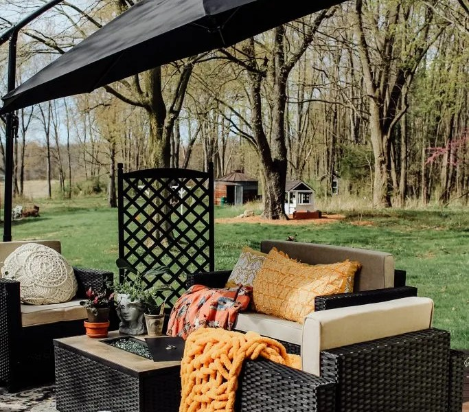 Spring Time Patio Refresh | The Perfect Outdoor Furniture