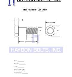 hex bolt cut sheet haydon bolts inc [ 1530 x 1980 Pixel ]