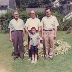 4 Generations of James Leroy Yerks