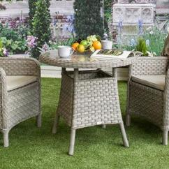 Repair Garden Chairs Stress Uk How To The Broken Strands Of Synthetic Rattan On Bramblecrest Geneva Bistro Set