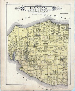 Old Hayes Township Map