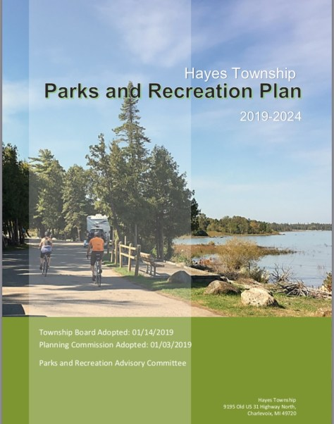 Cover image of the 2019-2024 Parks and Recreation Plan