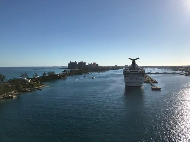 Disney Dream Nassau Dock Approach
