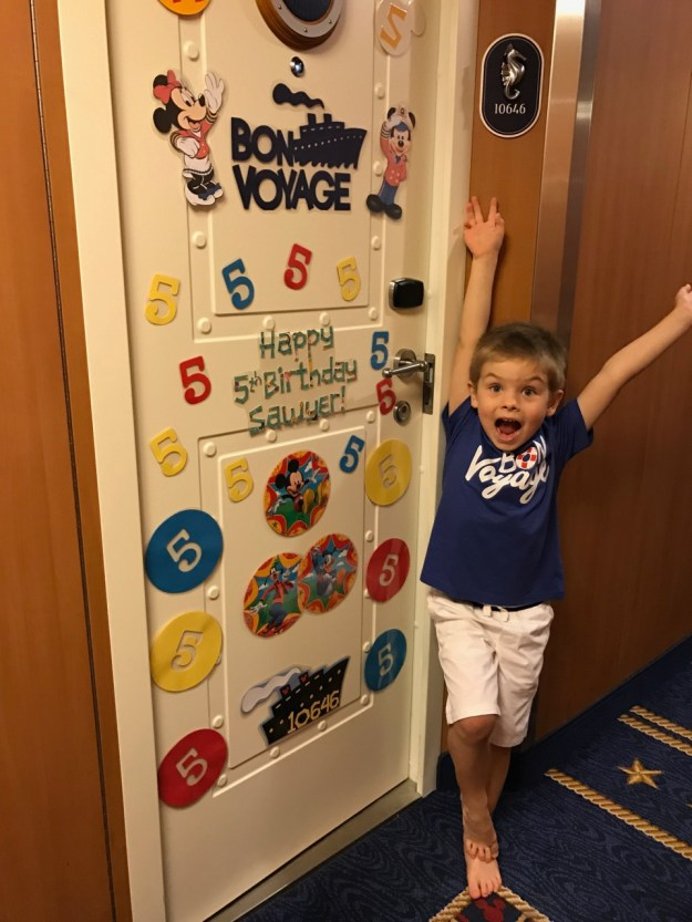 Disney Dream Stateroom Door Birthday Decorations