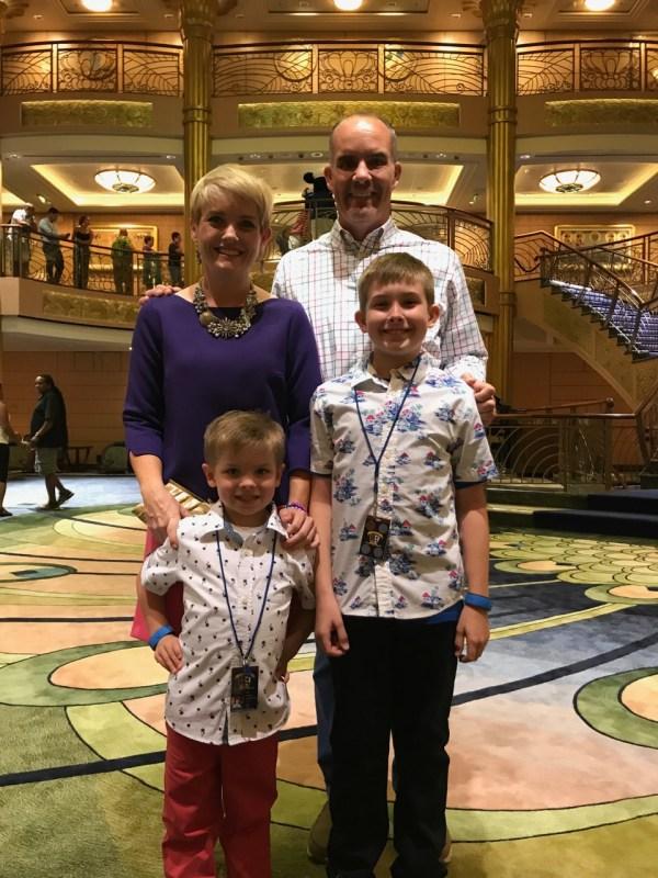 Disney Fantasy - Deck 3 Family Photo