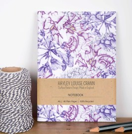 Floral Decay Notebook