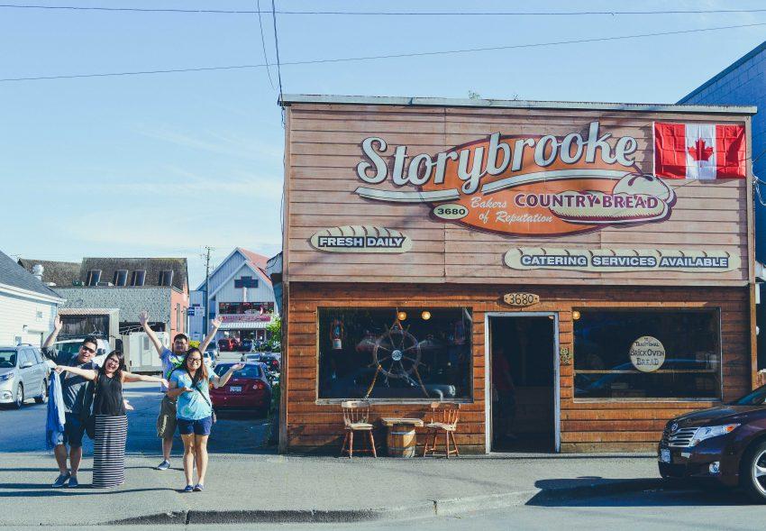 Visiting Steveston near Vancouver, Canada