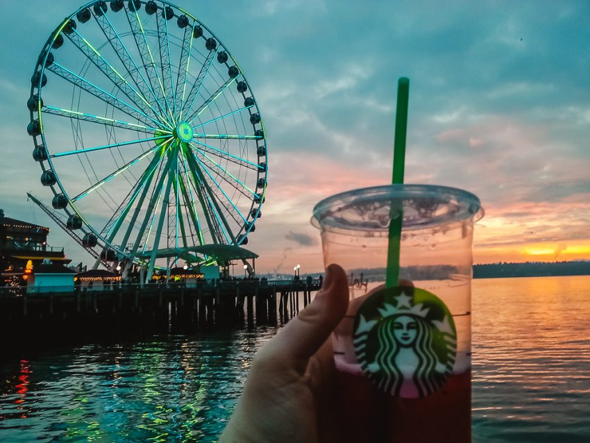 Starbucks in Seattle, Washington