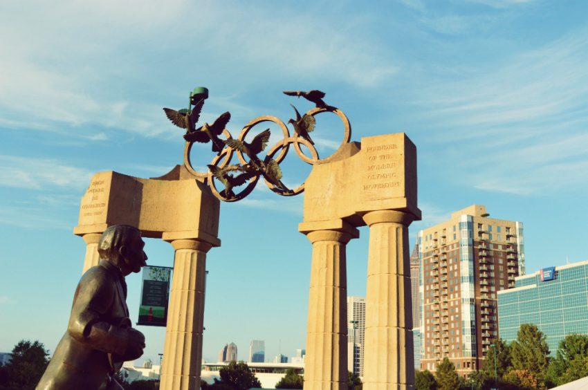 Centennial Olympic Park in Atlanta, Georgia