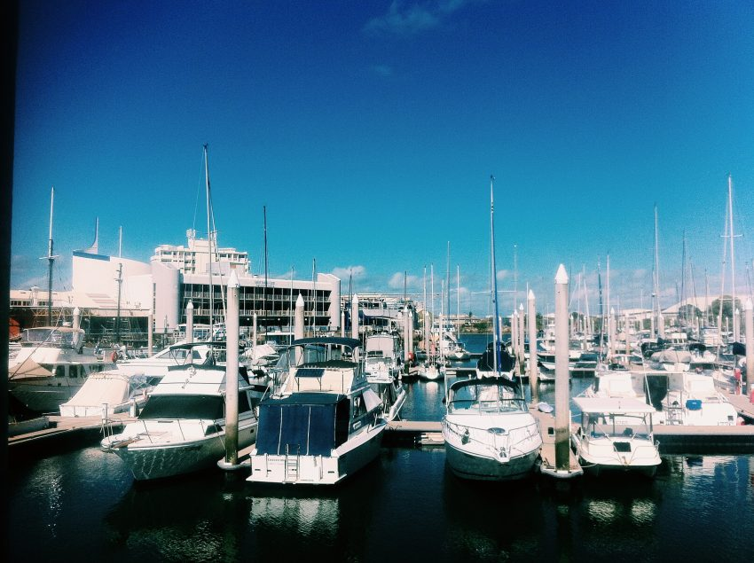 Yacht Club views in Townsville