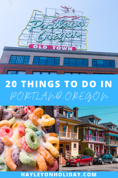 20 fun things to do in Portland, Oregon
