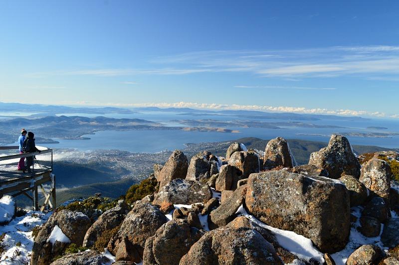 Mount Wellington is must-see when visiting Hobart in Tasmania, Australia